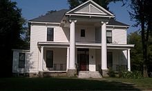 Historic Sheeks House in Corning, Arkansas.
