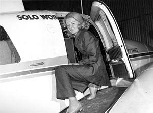 Sheila Scott - Before her 1971 record-breaking trip