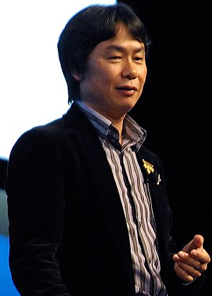 Nintendo Entertainment Analysis & Development - Image: Shigeru Miyamoto GDC 2007
