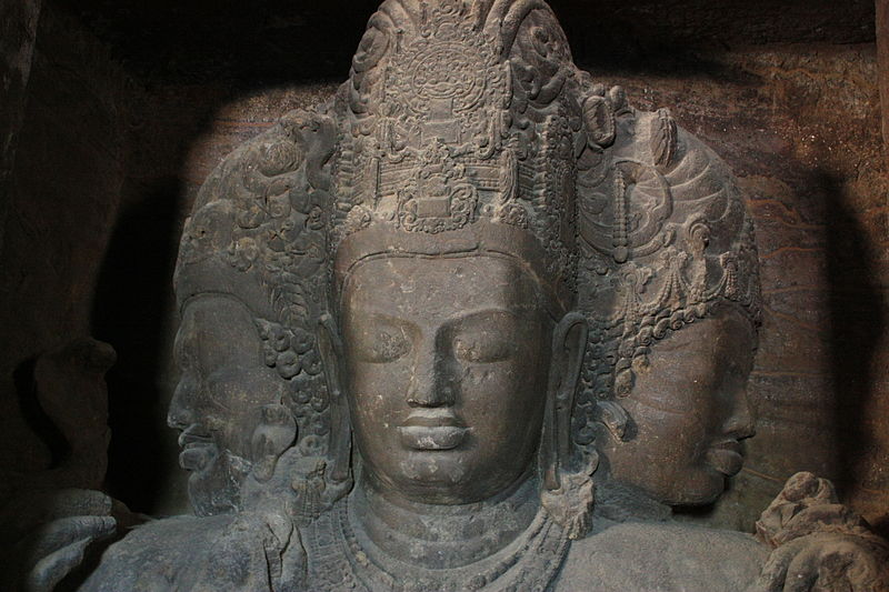 File:Shiva Trimurti @ Elephanta Caves.jpg