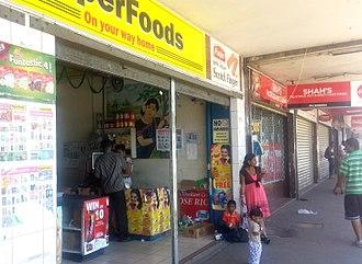 Lautoka - Grocery store in Lautoka.