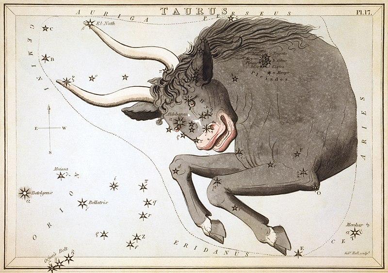 Sidney Hall - Urania%27s Mirror - Taurus.jpg