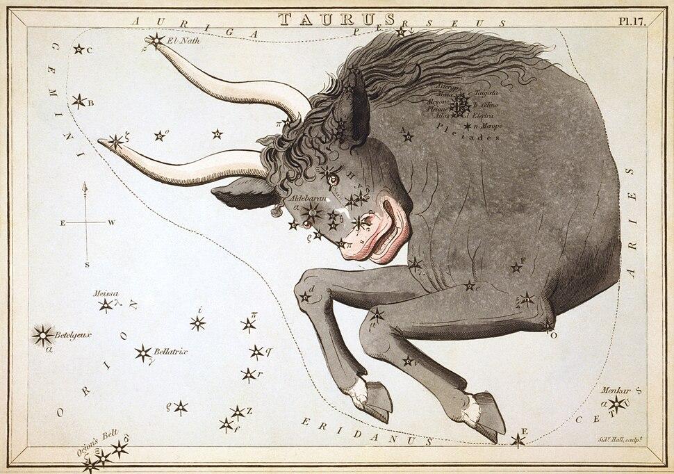 Sidney Hall - Urania%27s Mirror - Taurus