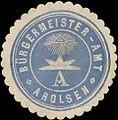 Siegelmarke Bürgermeister-Amt Arolsen W0385091.jpg