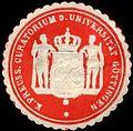Siegelmarke Königlich Preussische Curatorium der Universität Göttingen W0219152.jpg
