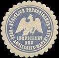 Siegelmarke K.Pr. Inspicient des Fuss-Artillerie-Materials W0363904.jpg