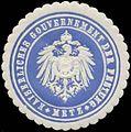 Siegelmarke K. Gouvernement der Festung Metz W0345496.jpg