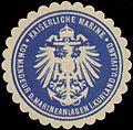 Siegelmarke K. Marine Kommandeur der Marineanlagen in Kurland und Livland W0363936.jpg