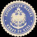 Siegelmarke Kaiserliche Marine - Werft zu Kiel W0217613.jpg