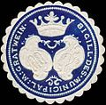 Siegelmarke Sigill des municipal Magistrats Gratwein W0321150.jpg