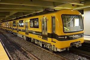Siemens-Schuckert Orenstein & Koppel - A refurbished Siemens-Emepa-Alstom train.