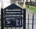 Sign 'Victoria Tower Gardens' South - geograph.org.uk - 1132420.jpg