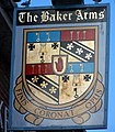 Sign for the Bakers Arms - geograph.org.uk - 1747192.jpg