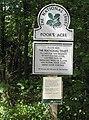 Sign in Haugh Wood, Poor's Acre - geograph.org.uk - 538192.jpg
