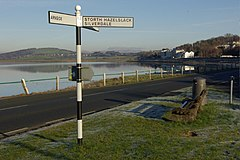 Signpost at Storth - geograph.org.uk - 1101321.jpg