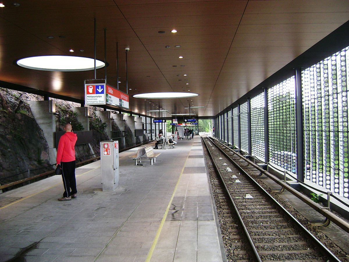 Herttoniemi Metroasema