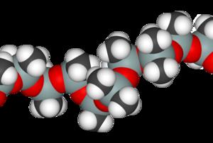 Polydimethylsiloxane - Image: Silicone 3D vd W