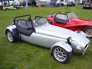 Westfield Sportscars - Image: Silver westfield sport at Stoneleigh 2008