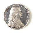 Silvermedalj, Per Brahe d.y., 1807 - Skoklosters slott - 109539.tif