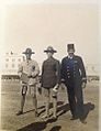 Sir Baden Powell during his visit to Egypt Alexandria with my grandfather Cpt. Abdel Hamid AbouZeid.jpg