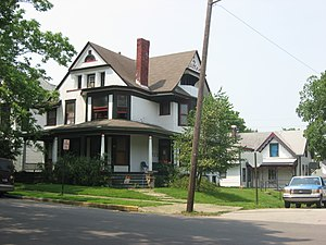 Ellsworth Historic District - Sixth and New York in Lafayette, June 2011