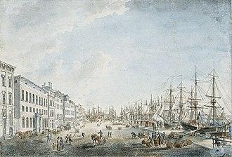 1797 in Sweden - Skeppsbron cumelin