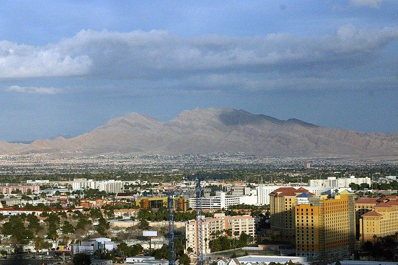 Nevada skyline