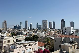 Tel Aviv City in Israel