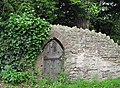 Small door in old stone wall - geograph.org.uk - 486910.jpg