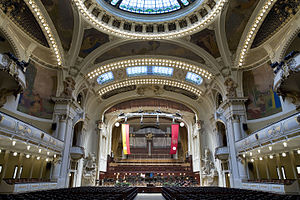 Smetana Hall at the Municipal House (Obecni Dum), Prague - 8928