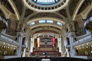 Smetana Hall at the Municipal House (Obecni Dum), Prague - 8928