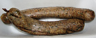Cajun cuisine - Boudin that has been smoked