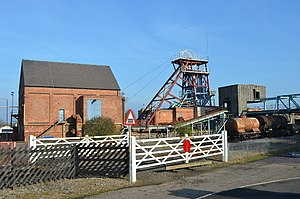 Snibston - Snibston Colliery in 2011