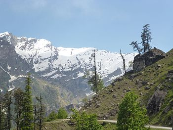 Snow covered mountains, manali.jpg