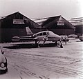 Snowbound aircraft at Sywell, 1975 - geograph.org.uk - 348861.jpg