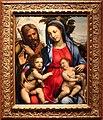 Sodoma, sacra famiglia con san giovanni battista, 1500-40 ca. 01.jpg