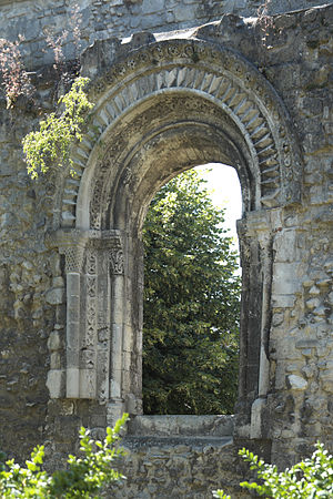 Notre-Dame de Soissons - Ruins of the nunnery today