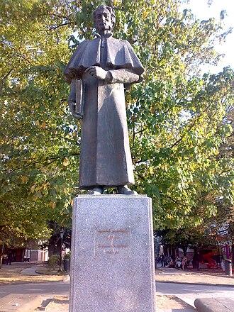 Solomon Dodashvili - Monument to Solomon Dodashvili in Sighnaghi