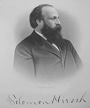 Solomon Hirsch - Image: Solomon Hirsch