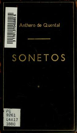Sonetos by Antero de Quental.djvu