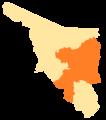Sonora Municipios IV Distrito Electoral Federal.png