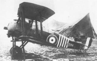 Sopwith Snipe fighter aircraft