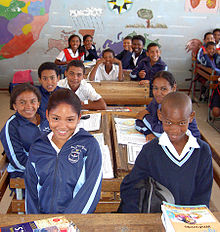 South African School Children