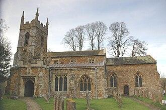 South Newington - Image: South Newington St Peter Ad Vincula south