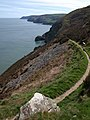 South West Coast Path east of Great Burland Rocks - geograph.org.uk - 1286976.jpg