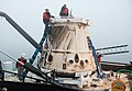 SpaceX CRS-1 at a port near Los Angeles2.jpg