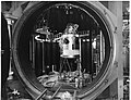 Space Environment Silumation Chamber with Apollo Spacecraft