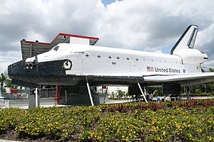 Space Shuttle Independence - Space Shuttle replica Explorer (now Independence) at Kennedy Space Center, Florida