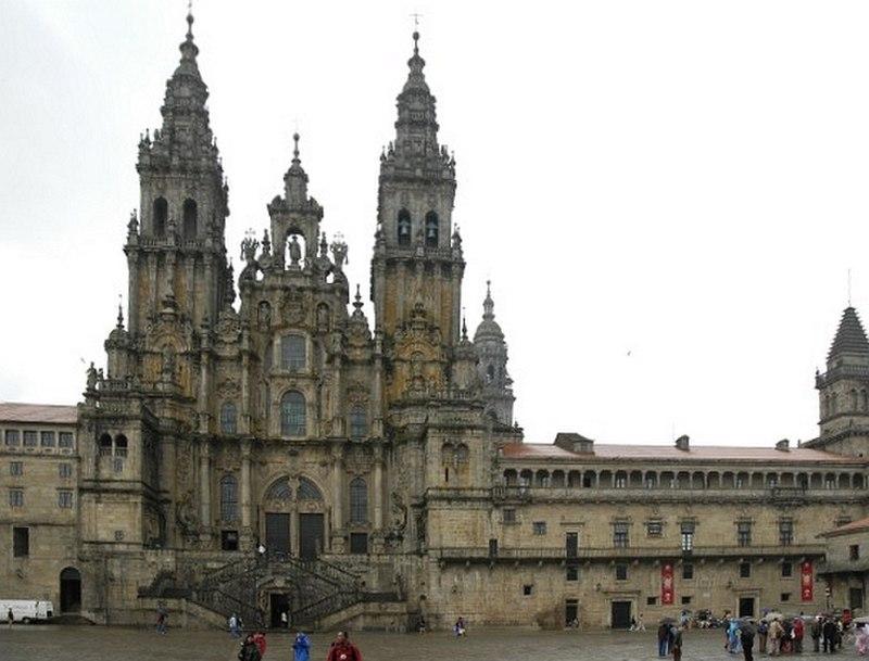 Catedral S. de Compostela (año 1711)