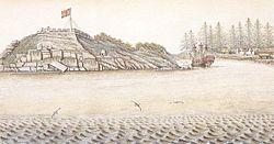 Spanish fort San Miguel at Nootka in 1793.jpg